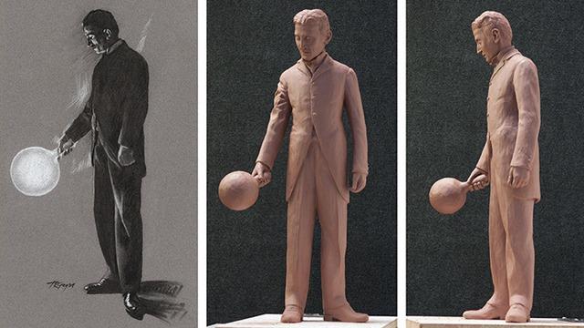 Tesla-Statue-Model